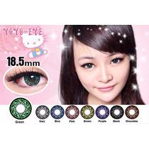 Pupilentes Hello Kitty 18.5mm Big Eyes