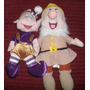 Pack Peluches 7 Enanitos Disney Originales Blanca Nieves