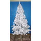 Arbolito De Navidad Blanco 2,40 Metros 1178 Ramas Canadiense