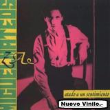 Vinilo Miguel Mateos Zas - Atado A Un Sentimiento- Original.