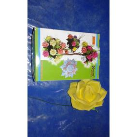 Moldes Tickas A Elección P/hacer Flores Rosas Calas Lilis