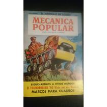Revista Antigua Mecánica Popular Noviembre 1960