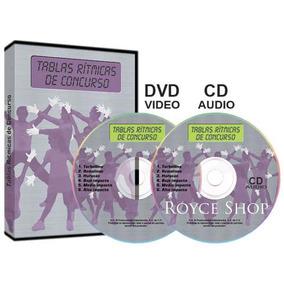 Tablas Rítmicas De Concurso 1 Dvd + 1 Cd Audio + 1 E-book