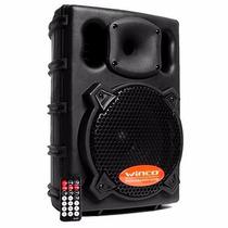 Bafle Parlante Winco 20cm Usb Sd Potencia 300w Bluetooth!!