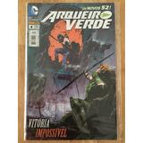 Dc Comics Os Novos 52! Arqueiro Verde Nº4 Vitória Impossível