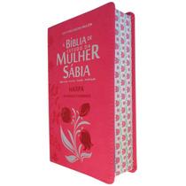 Biblia De Estudo Da Mulher Sabia Com Harpa E Corinhos Cp Pu
