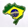 Imã De Geladeira Mapa Do Brasil Emborrachado Lindo Souvenir