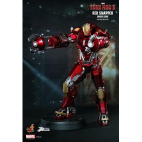 Iron Man 3 Red Snapper Mark 35 Hot Toys Escala 1/6 Sideshow