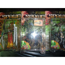 Spawn The Dark Ages Serie 4 3 Figuras Mandarin Necro Iguantu