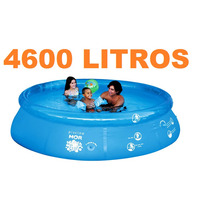 Piscina Redonda 4600 Litros Inflavel Splash Fun