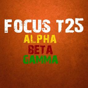 Focus T25 Completo - Alpha Beta Y Gamma Ejercicio Fitness