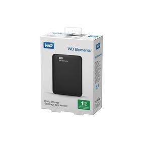 Hd Externo 1tb Usb 3.0 Wd Portatil Western Digital Elements