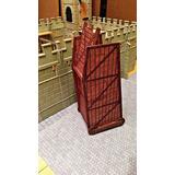 Torre De Asalto Medieval Para Muñequitos Soldaditos Maqueta