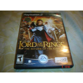 Playstation 2 Señor De Los Anillos Retorno Del Rey Lord Ring