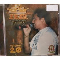 Cd Zezo - Volume 20 - O Príncipe Dos Teclados (lacrado)