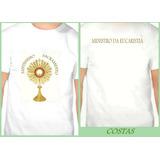 Kit 4 Camisetas Ministro Da Eucaristia