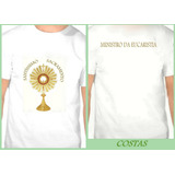 Kit De 5 Camisetas Ministro Da Eucaristia
