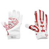 Guantes Football Americano Superman Under Armour F5 Adulto