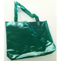 Sacola Ecobag Plastico Verde Com Transparencia
