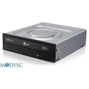 Gravador Dvd Sata 24x Gh24nsc0 Lg Preto Com Logo