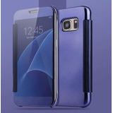 Capa Case Flip Cover Espelhada Luxo Galaxy S7 Edge G935 5.5