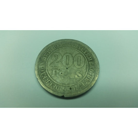 Moeda 200 Reis De 1977 Do Decreto 1817 De Setembro 1817