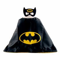 Fantasia Infantil Batman Capa E Mascara! Frete Gratis