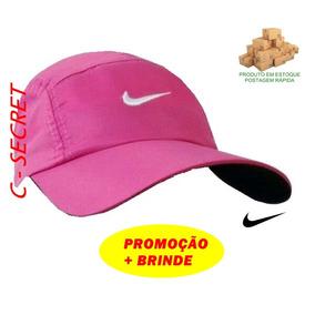 Boné Chapéu Sombreiro Modelo Nike Lançamento Rosa E Pink