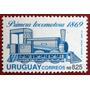Osl Sello 1395 Mint Uruguay Locomotora Tren Afe