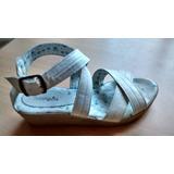 Sandalias Blancas N° 37 Marca Botanguitas