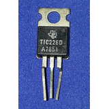 Tic226d = Nte5635 400 Volt 10 Amp To-220 Triac