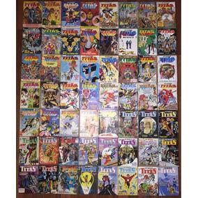 Lote Os Novos Titas / Teen Titans En Portugués Ed. Abril Dc