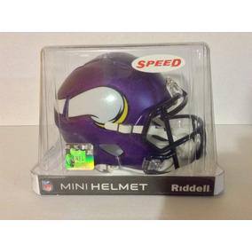 Casco Nfl Mini Helmets Riddell Speed Vikingos Minnesota