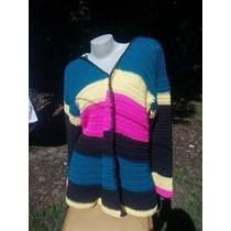 Sacos Tejido Crochet Talle S Y M- Reyna Tejidos Artesanales.