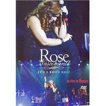 Dvd Rose Nascimento - Para O Mundo Ouvir- Ao Vivo (original)
