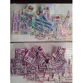 105 Etiquetas Marcar Ropa Bebes Guarderia Incluye 3 Tamaños