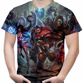 Camiseta Camisa Jogo League Of Legends Lol Full Print