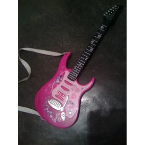 Guitarra Eléctrica Original Barbie Con Sonido