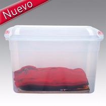 6 Cajas Plásticas Apilables Col Box 42 Lts Colombraro