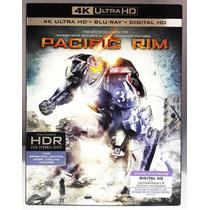 Pacific Rim Titanes Del Pacifico Pelicula 4k Hd + Blu-ray