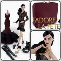 Hermoso Maletín Portafolio De Fashion Royaliti Doll
