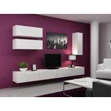 Mueble Lcd-mesa De Tv-vajillero Modular Led Cipriano Cocinas