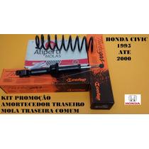 Amortecedor Mola Honda Civic 95 96 97 98 99 00 Traseiro