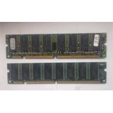 Lote De Memorias Ram Para Computadora 256mb Pc133 Sdram
