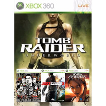 Tomb Raider Underworld Legend + Just Cause 2 + Sleeping Dogs