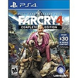 Far Cry 4 Complete Edition Ps4 Fisico Sellado !!!
