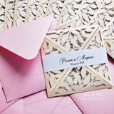 Tarjetas De Invitación (bodas, Quince Años, Bautizos, Etc)