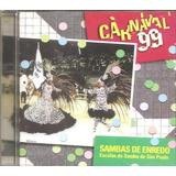 Escola Samba Gavioes Da Fiel, Aguia De Ouro - Cd Carnaval Sp