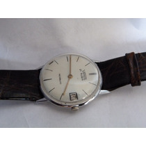 Vintage Reloj Venus Suizo Extra Plano De 17 Rubiesa Cuerda