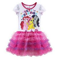 Fantasia Vestido Infantil Aniversário My Little Pônei